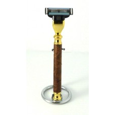 Cherry Burl Razor Handle