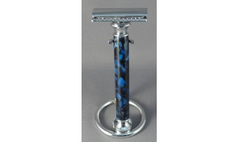 Blue Chip Stock Safety Razor Handle