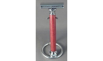 Purpleheart Safety Razor Handle
