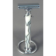 Smoke Rings Acrylic Safety Razor Handle