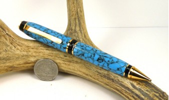 Southwestern Blue Cigar Pencil
