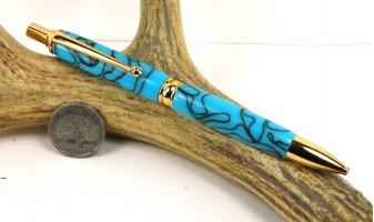 Turquoise Power Pencil