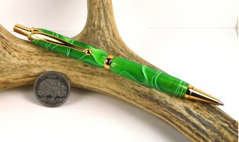 Emerald Water Slimline Pencil