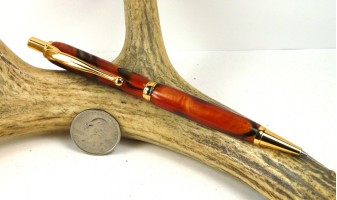 Bronze Marble Slimline Pencil