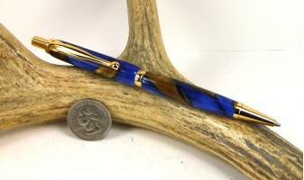 Kings Blue Slimline Pencil