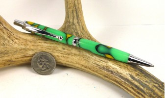 Lemon Lime Slimline Pencil