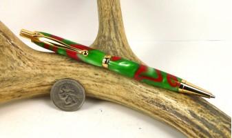 Holly Berry Slimline Pencil