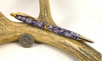 Purple Pebble Slimline Pencil