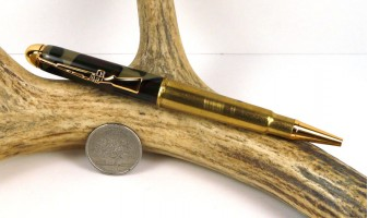 Woodland Camo .303 British Rifle Cartridge Pen