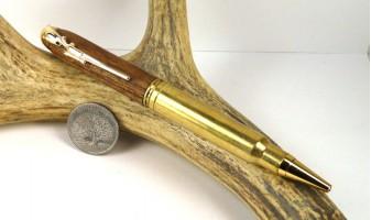 Cuban Mahogany .338 Winchester magnum Rifle Cartridge Pen
