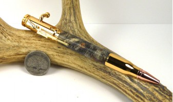 Buckeye Burl Bolt Action Pen