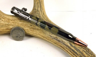 Woodland Camo Bolt Action Pen