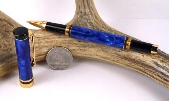Pearl Blue Ameroclassic Rollerball Pen