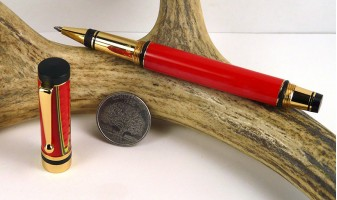 Christmas Mesh Classic Elite Rollerball Pen