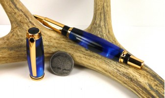 Blue Marble Jr Gentleman Rollerball Pen