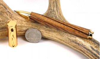 Zebrawood Zen Rollerball Pen