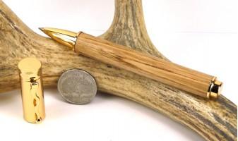 American Chestnut Zen Rollerball Pen