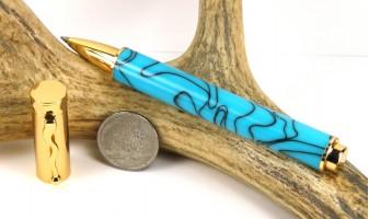Turquoise Zen Rollerball Pen