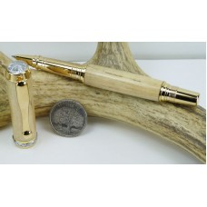 Spalted Maple Triton Rollerball Pen