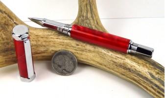 Rage Red Rinehart Rollerball Pen