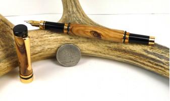 Bethlehem Olivewood Ameroclassic Fountain Pen