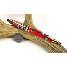 Hot Fire and Cold Ice Euro Stylus Pen