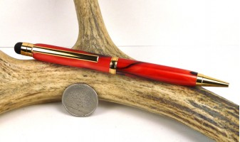 Red Marble Comfort Stylus