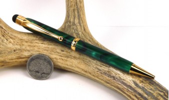 Green Marble Comfort Stylus