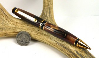 Bronze Marble Cigar Pen