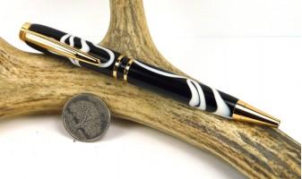 Skunk Swirl Elegant American Pen