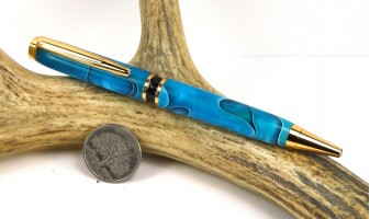 Persian Blue Elegant American Pen