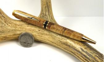 Spalted Maple Elegant American Pen