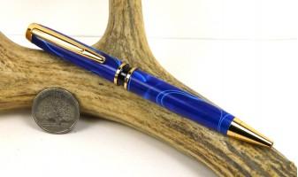 Cobalt Swirl Elegant American Pen
