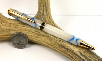 Glacial Swirl Elegant American Pen
