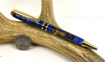 Kings Blue Elegant American Pen