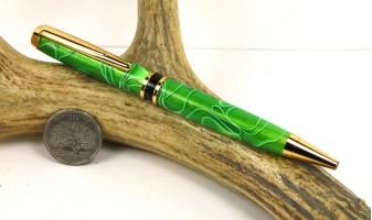 Emerald Water Elegant American Pen