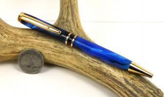 Deep Cobalt Elegant American Pen