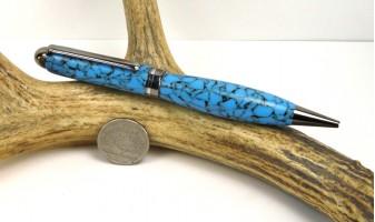Southwestern Blue Euro Pen