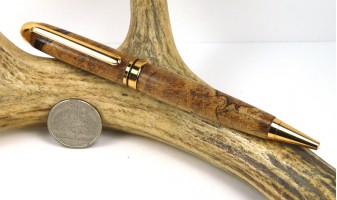 Spalted Maple Euro Pen