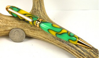 Lemon Lime Euro Pen