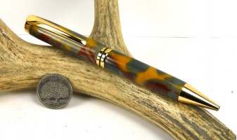 Precious Metal Jr Gentleman Twist Pen