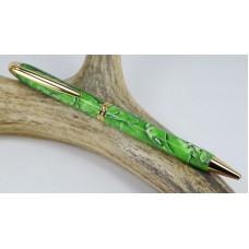 Lime Mesh Presidential Pen