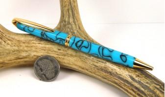 Turquoise Presidential Pen