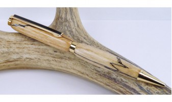 Spalted Maple Slimline Pen