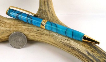 Persian Blue Roadster Pen
