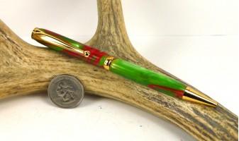 Holly Berry Slimline Pen
