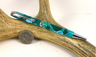 Sea Foam Slimline Pen