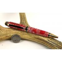 Red Circuit Board Cigar Pen