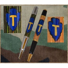 36th Infantry (Texas National Guard) Inlay Pen