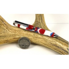 4th of July Camo Credit Card Pen